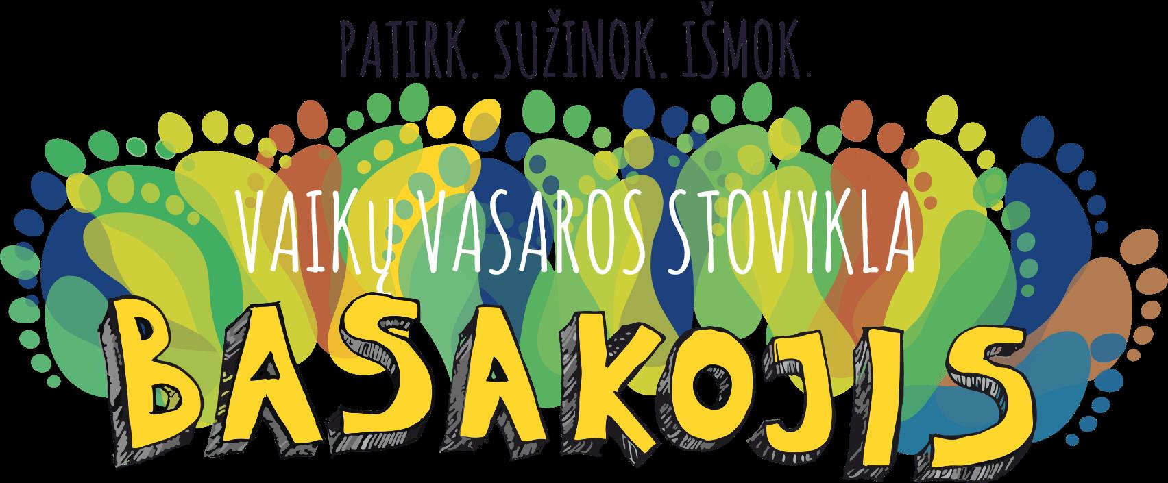 StovyklaBasakojis vaiku stovykla logo